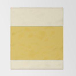 Warm Sunlight Color Block Throw Blanket