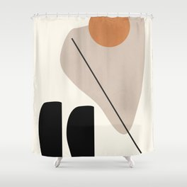 Abstract Shapes 61 Shower Curtain