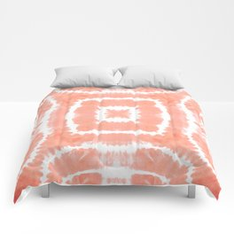 FESTIVAL SUMMER - WILD AND FREE - BLOOMING DAHLIA Comforters
