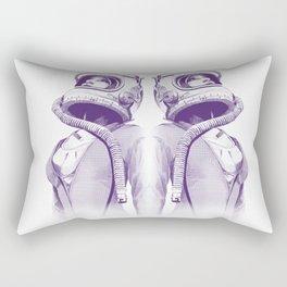 Space Woman Rectangular Pillow