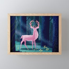 King Of The Enchanted Forest Framed Mini Art Print