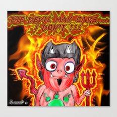 devils do ... Canvas Print