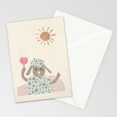 sheep collage Stationery Cards