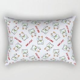 Maneki Neko Tenshu Rectangular Pillow