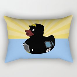 Quack Cabs Rectangular Pillow