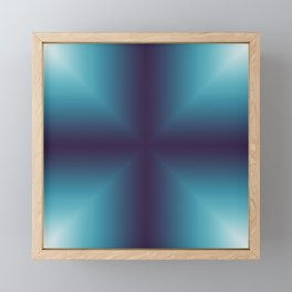 Window to another dimension Framed Mini Art Print