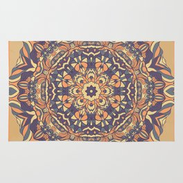 Carpet with ethnic composition Rug