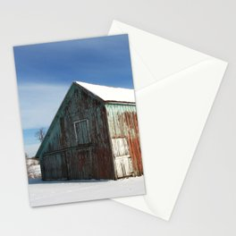 Illinois Barn Stationery Cards