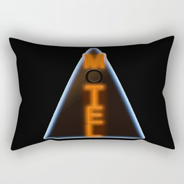 Motel Neon Rectangular Pillow