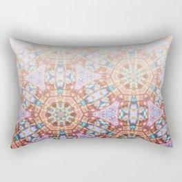 Geometric Ombre Rectangular Pillow