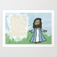 Beatitudes Art Print
