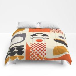 Mid-century no1 Comforters