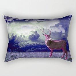 Le cerf dans les nuages Rectangular Pillow