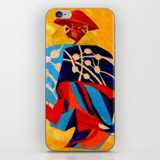 japanese men in traditional clothes iPhone & iPod Skin