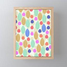 Leaf joy Framed Mini Art Print