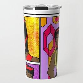 Izanami Grey Deco Travel Mug