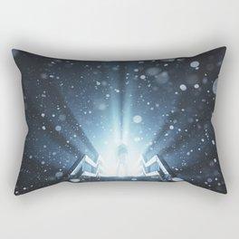 Enter the Frozen Light Rectangular Pillow