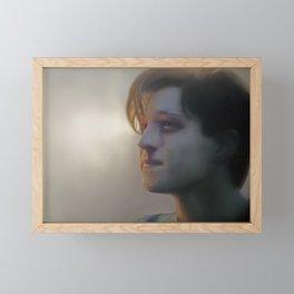 We Won Framed Mini Art Print