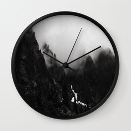 Shrouded View Wall Clock