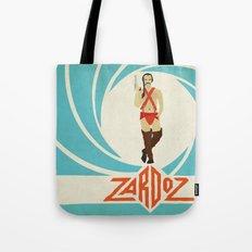 Agent Zardoz Tote Bag