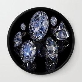 SHINE BRIGHT DIAMOND Wall Clock
