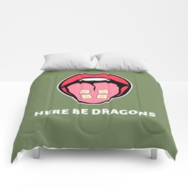 Here Be Dragons Comforters