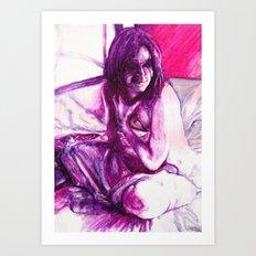 Morning Shadows Art Print