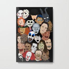 Icons Metal Print