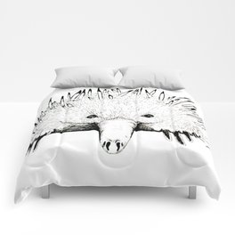 Nudge in Echidna Comforters