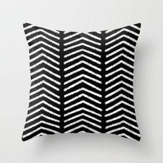 Graphic_Black&White #3 Throw Pillow