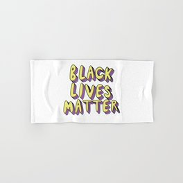 Black Lives Matter Hand & Bath Towel
