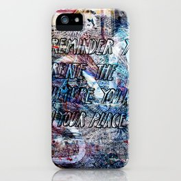 Overlay-2 iPhone Case