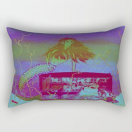 Collaborative Calliope Rectangular Pillow