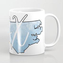 Outer Banks OBX North Carolina Watercolor Print Coffee Mug