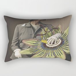 A Passion For Travel Rectangular Pillow