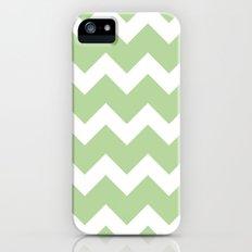 Chevron - Mint Slim Case iPhone (5, 5s)