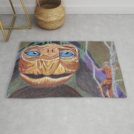 The Neverending Story. Morla and Atreyu Rug