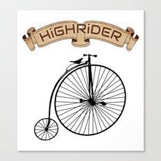 High Rider Canvas Print