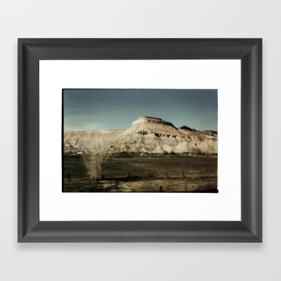 Colorado Plateau Framed Art Print