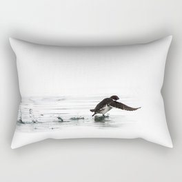Running on water Rectangular Pillow
