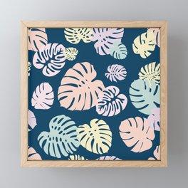 Multicolor Tropical Leaves 25 Framed Mini Art Print