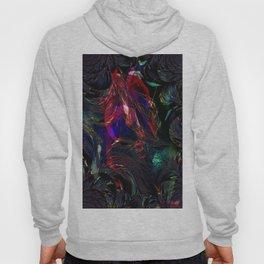 Vintage Fraktal colors  Hoody