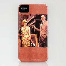 Betty & Don Draper from Mad Men - Painting Style iPhone (4, 4s) Slim Case