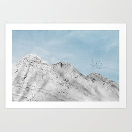 Marble Mountain II Art Print