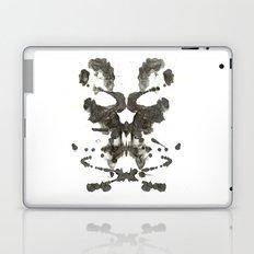 Inkblot Skull Laptop & iPad Skin