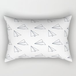 Papar airplane Rectangular Pillow