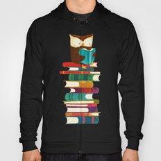 Owl Reading Rainbow Hoody