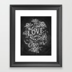 Harry Potter - The Ones That Love Us Framed Art Print