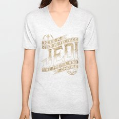 To Be A Jedi Unisex V-Neck
