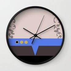 Jadzia Dax - Minimalist Star Trek DS9 Deep Space Nine - startrek - Trektangle - Trektangles Wall Clock
